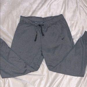 Fleece lined Nike sweatpants